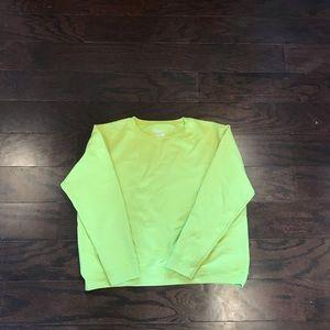 Hanes brand soft blend sweatshirt